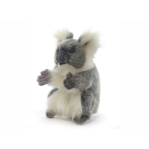 "Set of 3 Handcrafted Koala Hand Puppet Stuffed Animals 9"" - IMAGE 1"