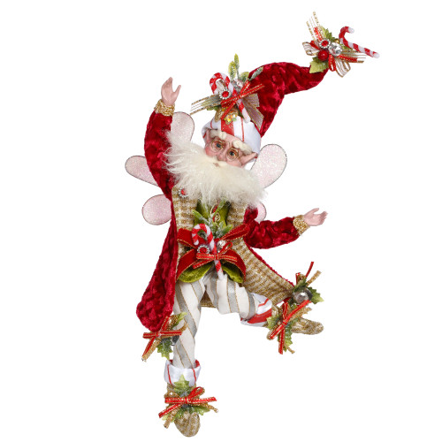 "Mark Roberts Collectible Candy Cane Christmas Fairy – Small 10"" #51-97150 - IMAGE 1"