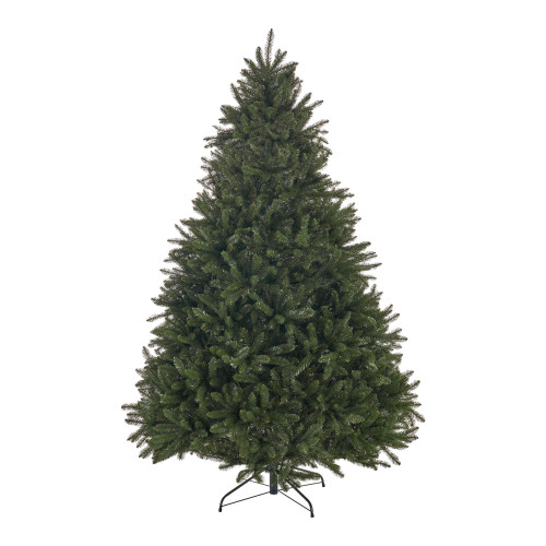 7' Full Norway Spruce Artificial Christmas Tree - Unlit - IMAGE 1