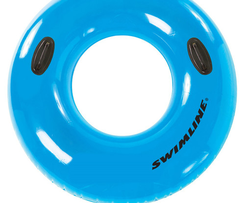 "42"" Blue Water Sports Inflatable Swimming Pool Inner Tube Ring Float - IMAGE 1"