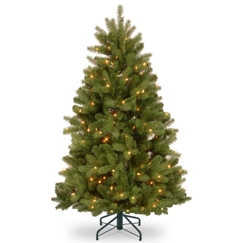 5' Pre-Lit Newberry Spruce Artificial Christmas Tree – Clear Lights - IMAGE 1