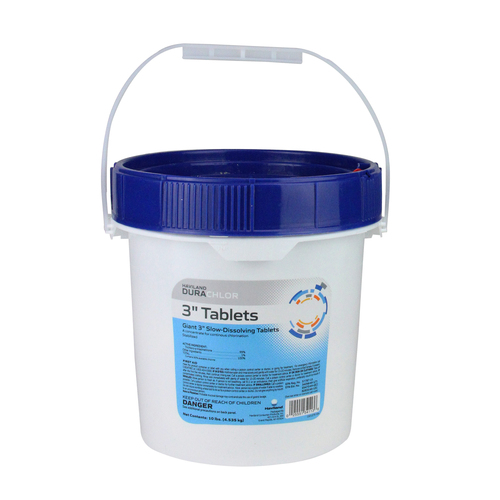 "3"" Haviland Durachlor Swimming Pool Chlorine Tablets 25 lbs - IMAGE 1"