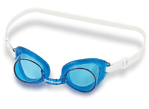 "6"" Blue Recreational Buccaneer Goggles Swimming Pool Accessory - IMAGE 1"