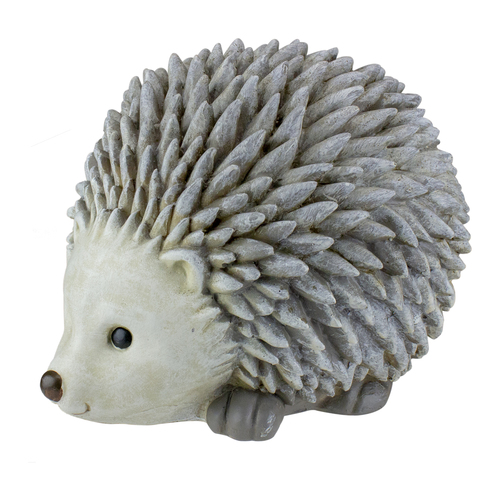 6.25in Gray Stone Pudgy Pals Hedgehog Bluetooth Speaker - IMAGE 1
