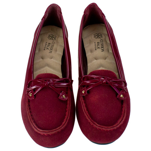 Red Cushion Walk Loafers - Woman's Size 6 - IMAGE 1