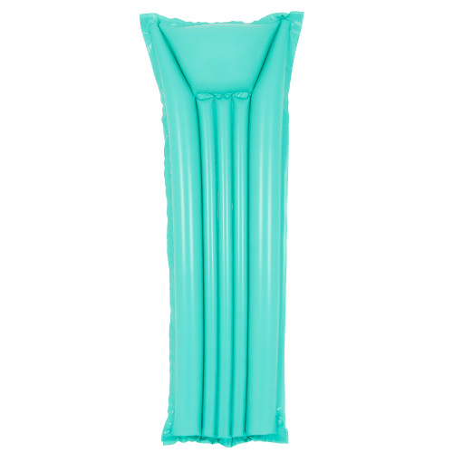 6' Blue Inflatable Swimming Pool Raft Float - IMAGE 1