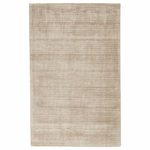 9' x 12' Gray Yasmin Handcrafted Rectangle Area Throw Rug - IMAGE 1