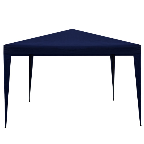 10' x 10' Navy Blue Pop-Up Outdoor Canopy Gazebo - IMAGE 1