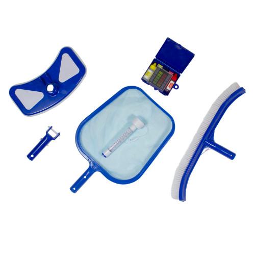 6-Piece Pool Maintenance Cleaning Kit - IMAGE 1
