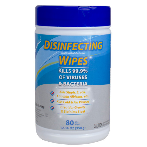 80 Count Promedic Disinfecting Wet Wipes (Case of 24) - IMAGE 1