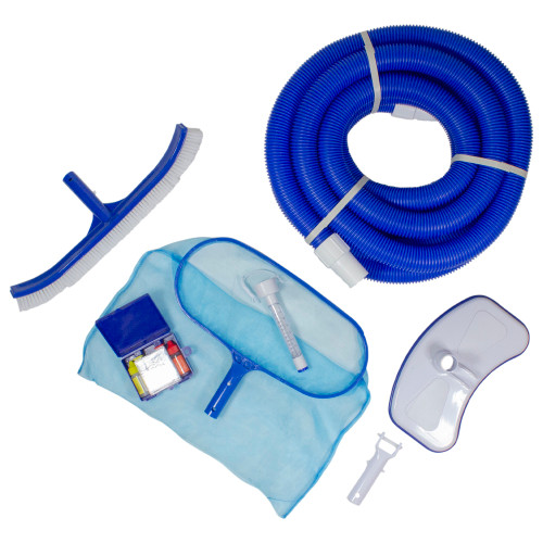 7-Piece Assorted Pool Maintenance Cleaning Kit - IMAGE 1
