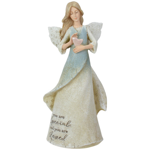 """8.5"""" You Are Loved Religious Angel Figure - IMAGE 1"""
