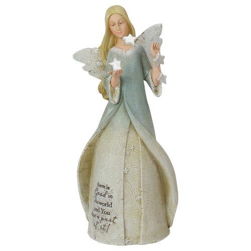 "8.5"" There is Good in the World Religious Angel Figure - IMAGE 1"