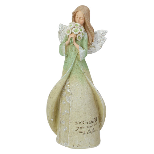 "8.5"" So Grateful Religious Angel Figure - IMAGE 1"