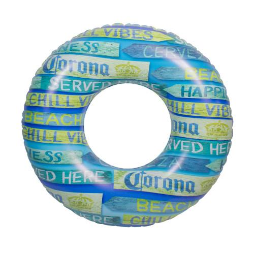 """36"""" Inflatable Corona Signage Swimming Pool Tube Ring - IMAGE 1"""