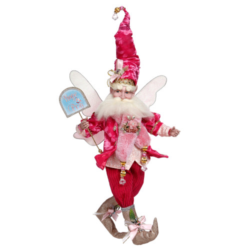 Mark Roberts Pink Spirit of Hope Breast Cancer Awareness Fairy, Large 18-Inches - IMAGE 1