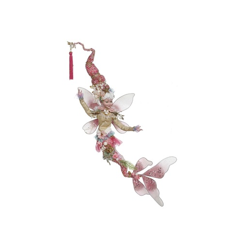 Mark Roberts Pink and Gold Mermaid Christmas Fairy, Large 20-Inches - IMAGE 1