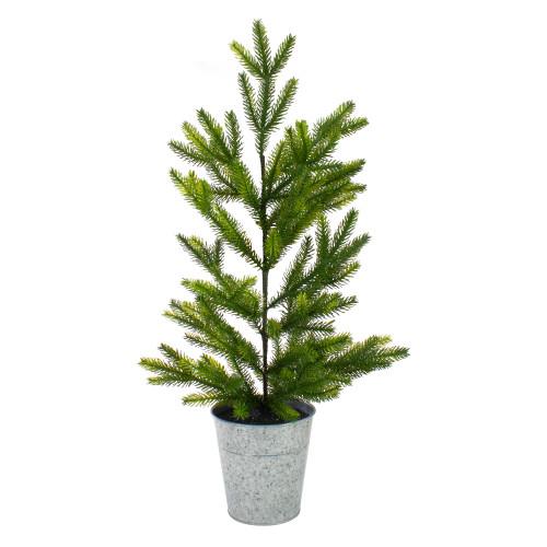2' Potted Pine Medium Artificial Christmas Tree – Unlit - IMAGE 1