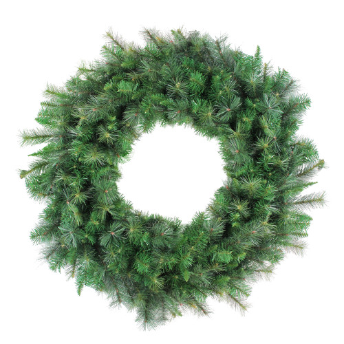 Canyon Pine Mixed Artificial Christmas Wreath, 48-Inch, Unlit - IMAGE 1