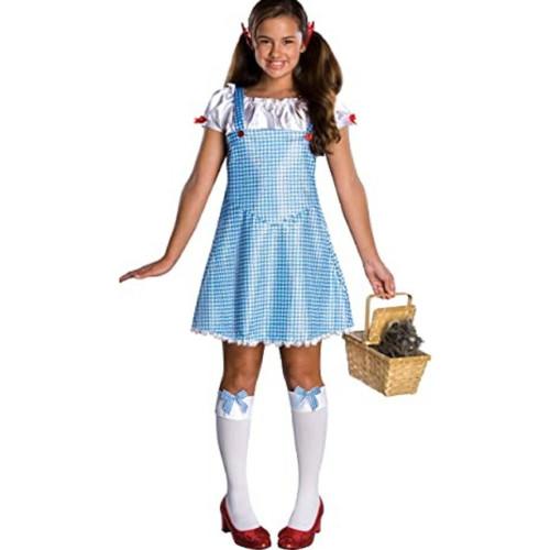 Teen Girls Wizard of Oz Dorothy Halloween Costume Size Small 2-6 - IMAGE 1