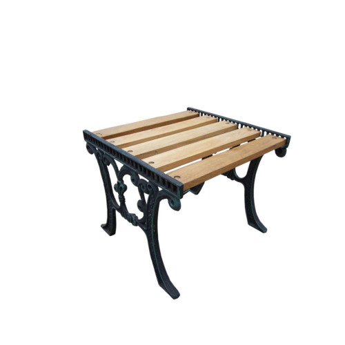 Wooden End Table - IMAGE 1