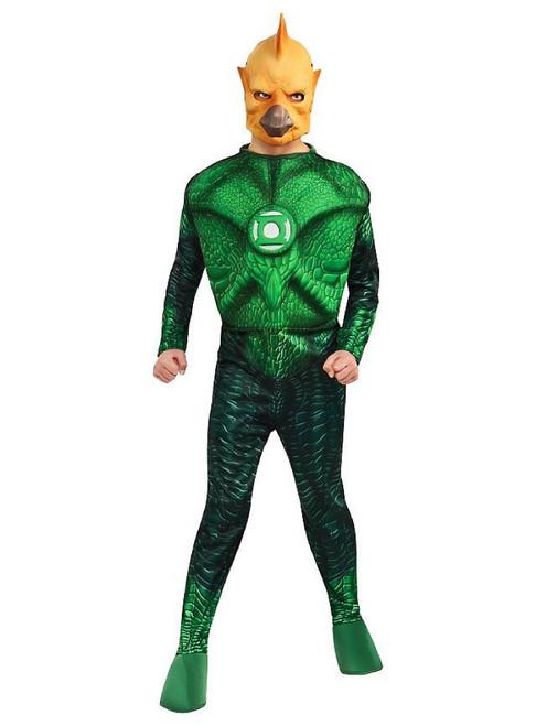 Green Lantern Tomar Boy's Halloween Costume - Medium - IMAGE 1