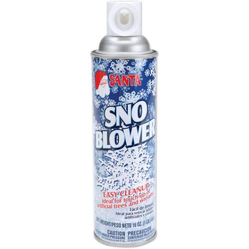 Blue and White Christmas Snow Spray - 16 Oz. - IMAGE 1