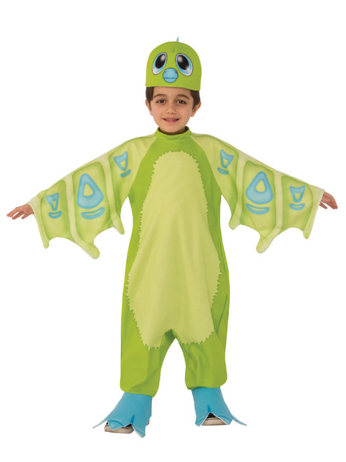 Draggles Hatchimal Green Children's Halloween Costume Size Extra Small 2-4 - IMAGE 1