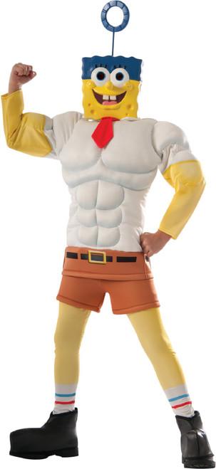 Spongebob Invincibubble Halloween Costume Boy's Size Small 4-6 - IMAGE 1