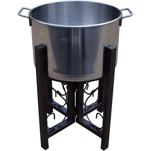 14 Stainless Steel Ice Bucket and Stand - IMAGE 1