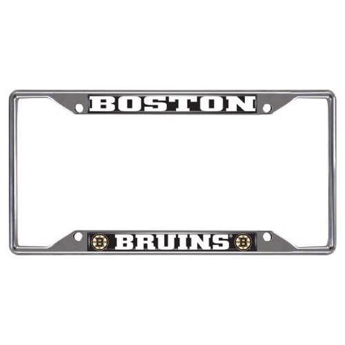 NHL - Boston Bruins Metal License Plate Frame - IMAGE 1