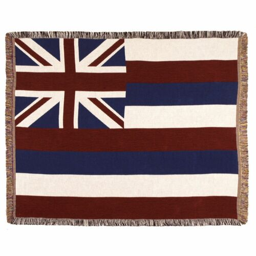 Set of 2 Flag of Hawali Throw pillow - IMAGE 1