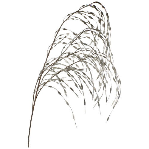 "47"" Silver Weeping Willow Artificial Christmas Spray - IMAGE 1"