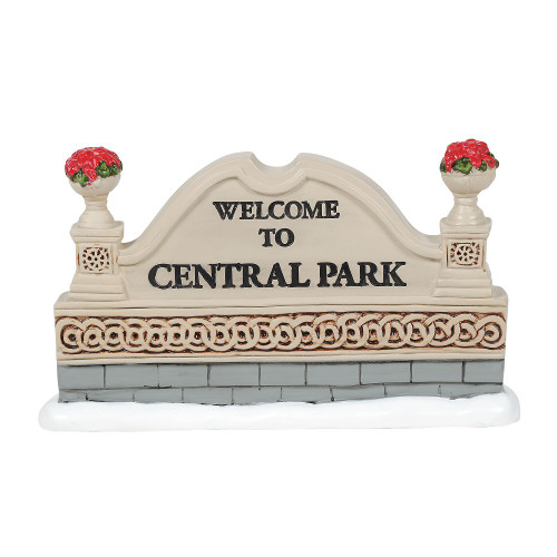 Department 56 Classic Christmas Sign Village Accessory #6005525 - IMAGE 1
