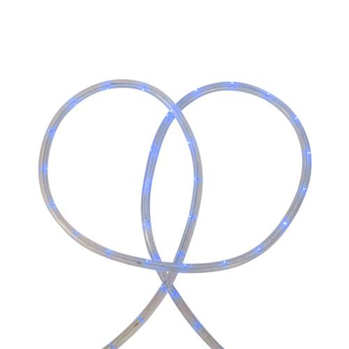 18' Blue LED Christmas Rope Lights - IMAGE 1