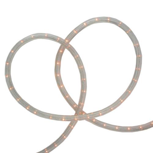 100' Warm White LED Christmas Rope Lights - IMAGE 1
