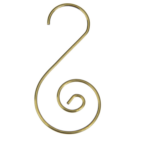 """Club Pack of 40 Gold Christmas Ornament Hooks 1.75"""" - IMAGE 1"""