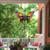 "24"" Purple and Bronze Butterfly Outdoor Garden Windchime - IMAGE 2"