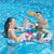 """46.5"""" Underwater Creatures Mommy and Us Dual Inflatable Swimming Pool Float - IMAGE 3"""