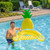 """60"""" Inflatable Pineapple Swimming Pool Sling Chair Pool Float - IMAGE 3"""