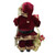"""18"""" Red Woodland Santa Claus Christmas Figure with Naughty and Nice List - IMAGE 5"""