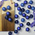 "96ct Royal Blue Shatterproof 4-Finish Christmas Ball Ornaments 1.5"" (40mm) - IMAGE 2"