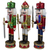 """Set of 3 Red Sequin Jacket Wooden Christmas Nutcrackers 14.25"""" - IMAGE 3"""