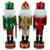 """Set of 3 Red Sequin Jacket Wooden Christmas Nutcrackers 14.25"""" - IMAGE 4"""