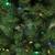7' Pre-Lit Slim Glacier Pine Artificial Christmas Tree - Multicolor LED Lights - IMAGE 4