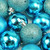 """96ct Turquoise Blue Shatterproof 4-Finish Christmas Ball Ornaments 1.5"""" (40mm) - IMAGE 2"""