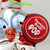 """4"""" Red and White Tootsie Roll Pop Original Candy-Filled Lollipop Mr. Owl Glass Christmas Ornament - IMAGE 2"""