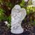 """9"""" Ivory Praying Cherub Angel on a Pedestal Outdoor Patio Garden Statue - IMAGE 2"""