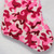 """15.75"""" Pink and Brown Camouflage Christmas Stocking with Cuff - IMAGE 3"""