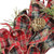 Red Plaid Bows and Pine Cones Artificial Christmas Wreath - 14.25-Inch, Unlit - IMAGE 3